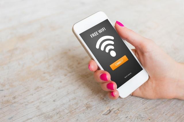 Free wifi access on smartphone